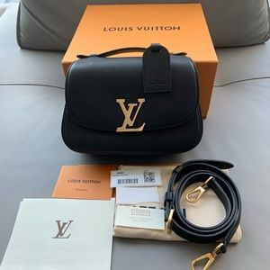 Louis Vuitton Vivienne NM Noir Black GHW M54057